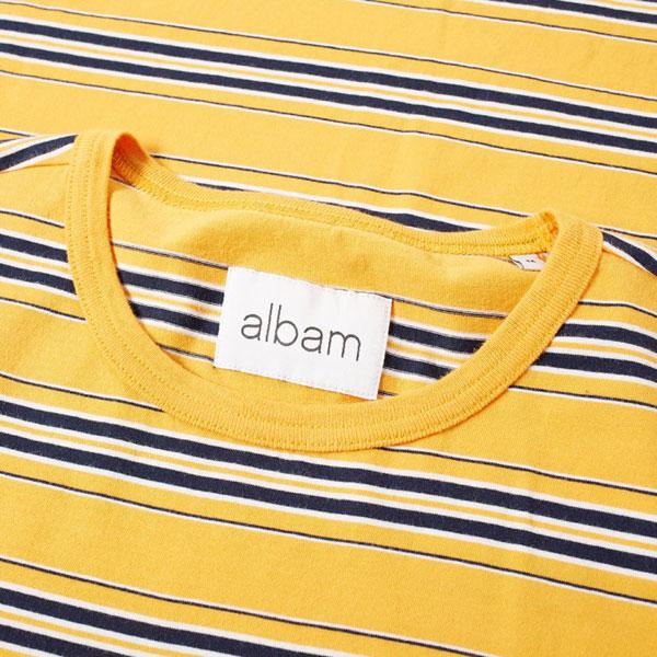 Albam vintage stripe t-shirts