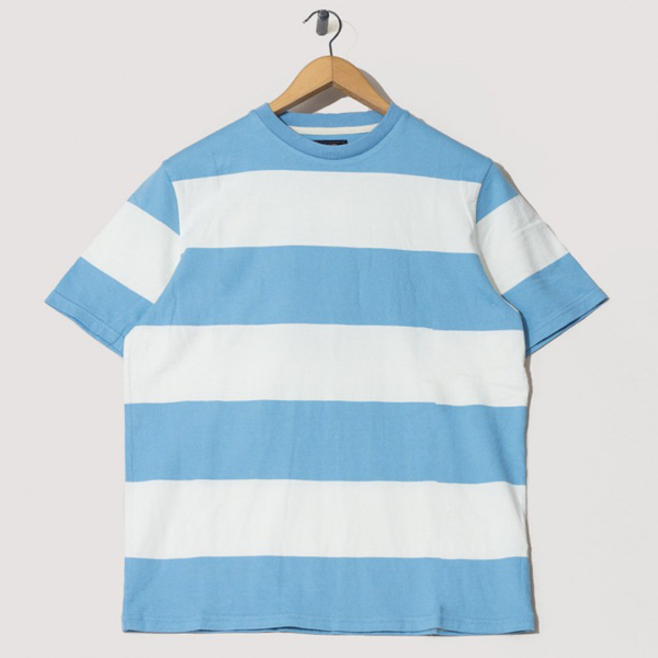 Beams Plus bold stripe t-shirts in Peggs & Son Sale