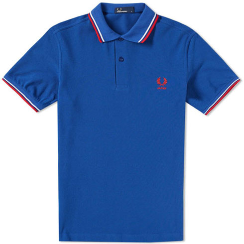 Fred Perry World Cup polo shirts return for Russia 2018