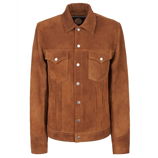 Sale watch: 1960s-style suede jacket at Pretty Green