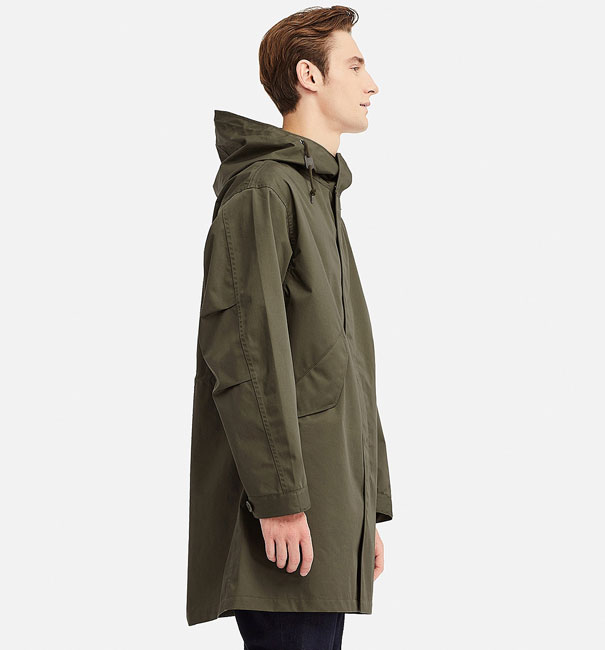 Blocktech Fishtail Parka returns to Uniqlo