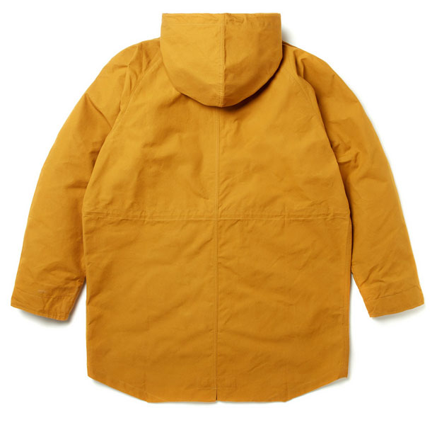 Albam takes on the fishtail parka