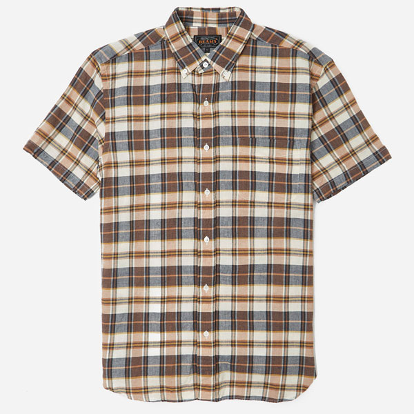 Sale watch: Beams Plus short sleeve madras shirts at Hip discounted
