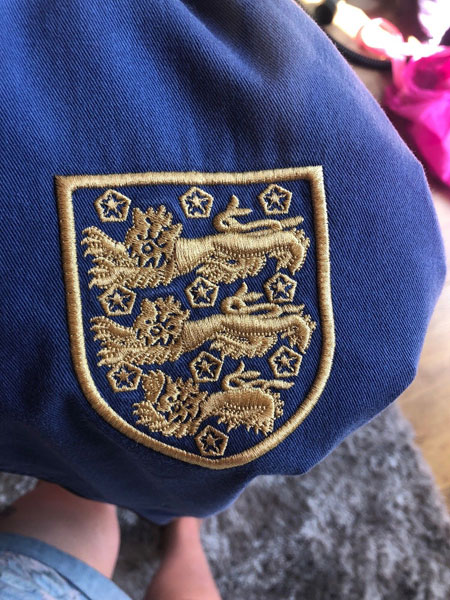 Original England 1966 World Cup Jacket on eBay