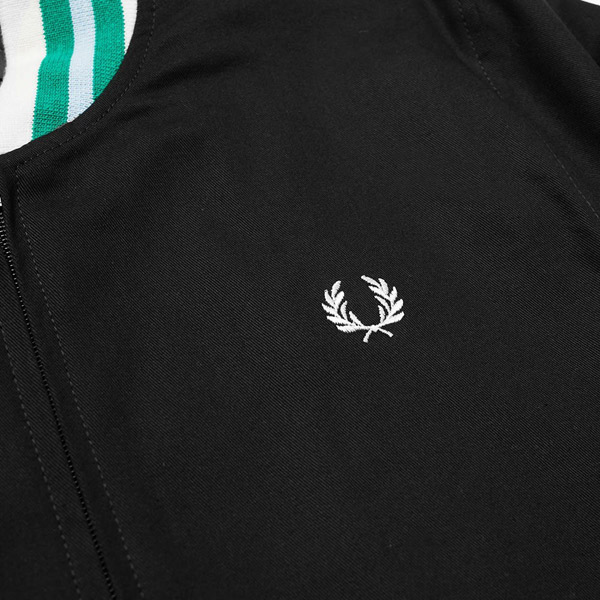 Fred Perry Tennis bomber jacket in black