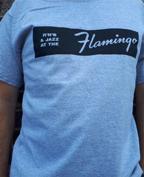 Limited edition Flamingo Club t-shirt by Gama Clothing