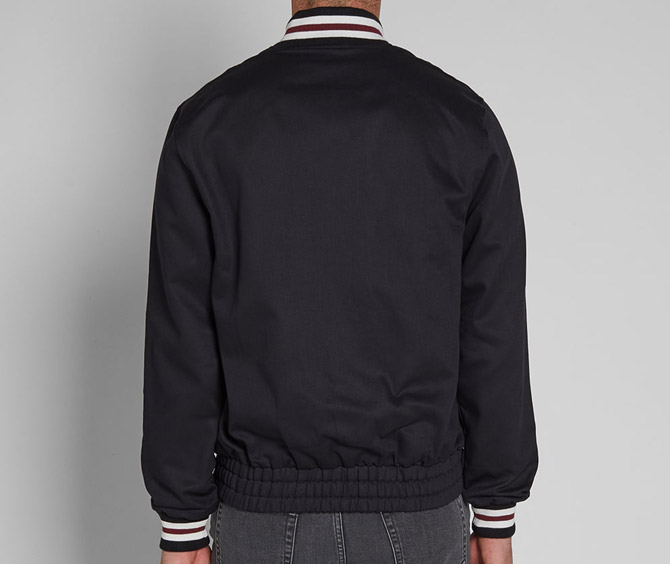 Fred Perry Made in England Original Tennis Bomber Jacket in black