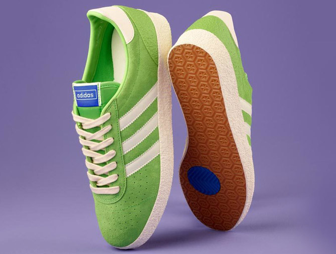 1970s Adidas Munchen Super gets a Spezial lime green reissue