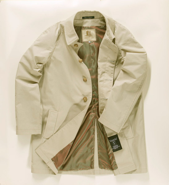The Harry Palmer raincoat by Lancashire Pike