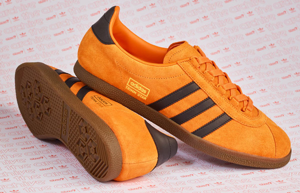 Size? debuts Adidas Trimm Star trainers in a pumpkin finish