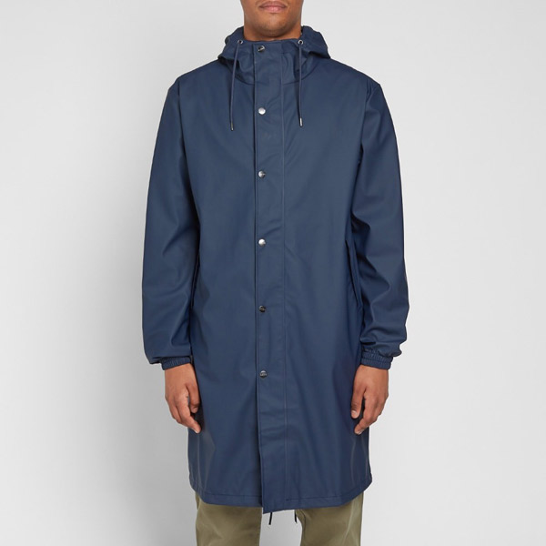Rainy day classic: Rains Fishtail Parka