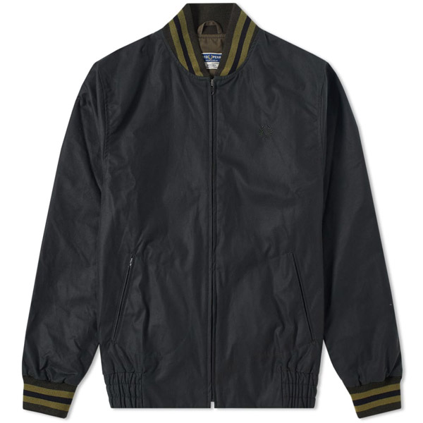 Fred Perry Waxed Tennis Bomber Jacket