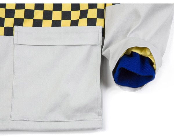 Style Council-inspired Anglozine Pause Windbreaker