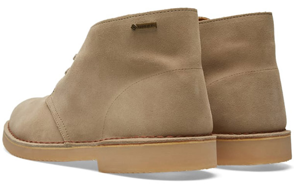 Clarks Gore-Tex desert boots in the Clarks Outlet