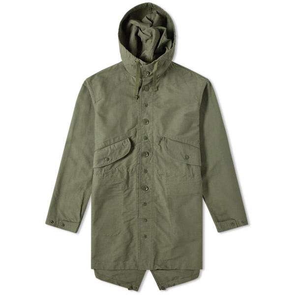 Engineered Garments military-style Highland Parka