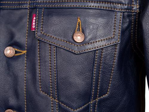 Aero 1960s-style Type III leather jacket