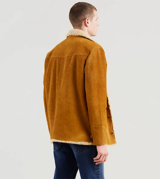 1970s Suede Sherpa Jacket reissue by Levi's Vintage