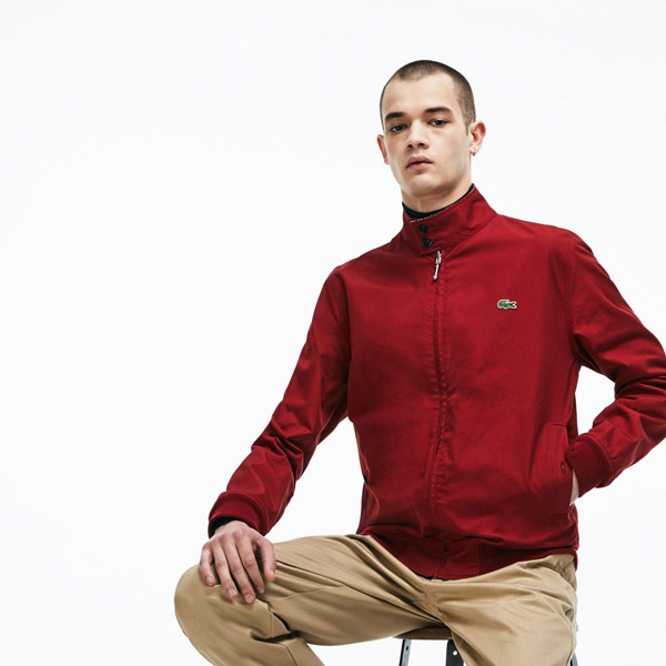Lacoste reversible Harrington-style jacket