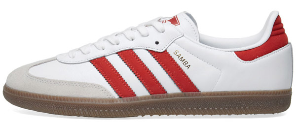 Adidas Samba OG trainers return in two white leather options