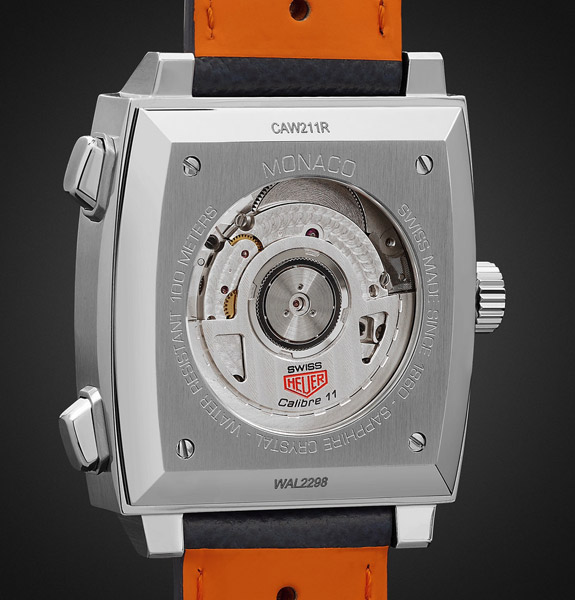 Steve McQueen style: Tag Heuer Monaco Gulf Edition watch