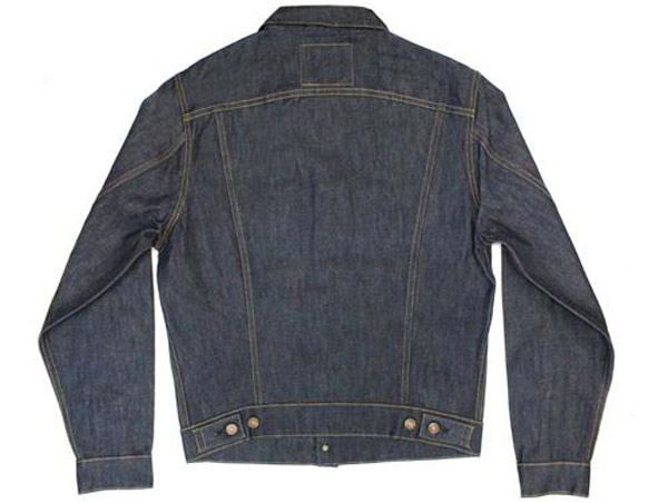 Levi's 1967 Type III jacket with deadstock dry finish