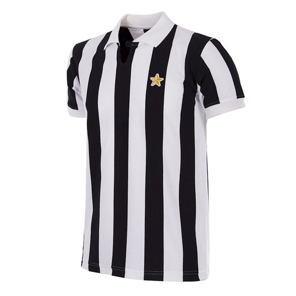 Juventus Retro Collection of football shirts and tops by COPA