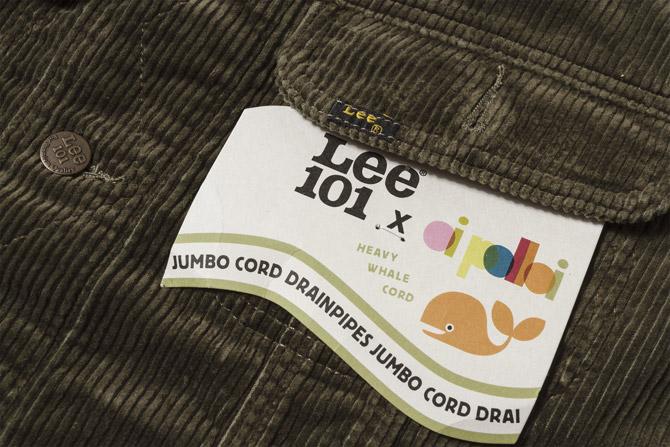 Oi Polloi x Lee Rider cord jackets