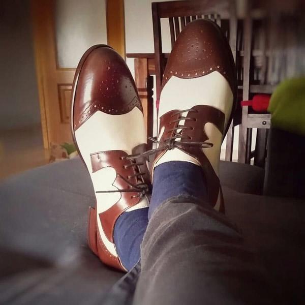ae007299073 Steve Marriott-inspired Stevi shoes by Dr Watson Shoemaker