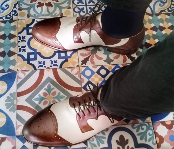 Steve Marriott-inspired Stevi shoes by Dr Watson Shoemaker