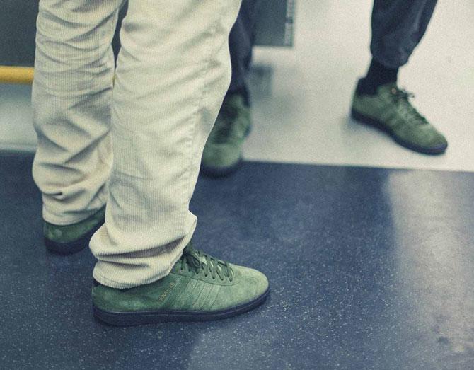 Adidas Newton Heath trainers land this week