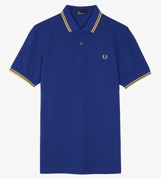 Fred Perry polo shirts reissued in 1994 shades