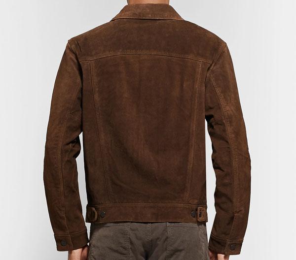 Polo Ralph Lauren Suede Trucker Jacket