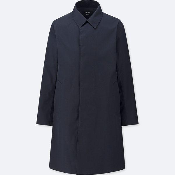 Blocktech classic raincoat at Uniqlo