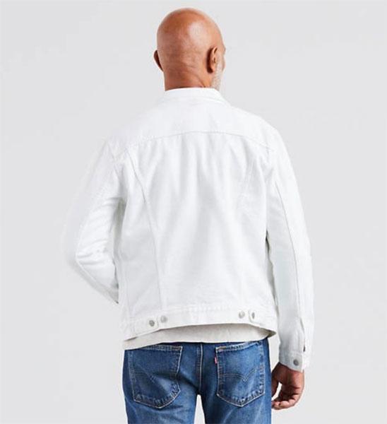 Levi's white trucker jacket returns to the shelves