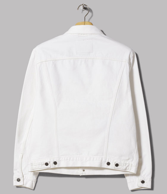Levi's white trucker jacket returns to the shelves