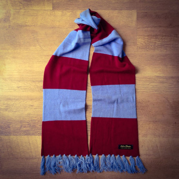 Retro Clasico merino wool football scarves