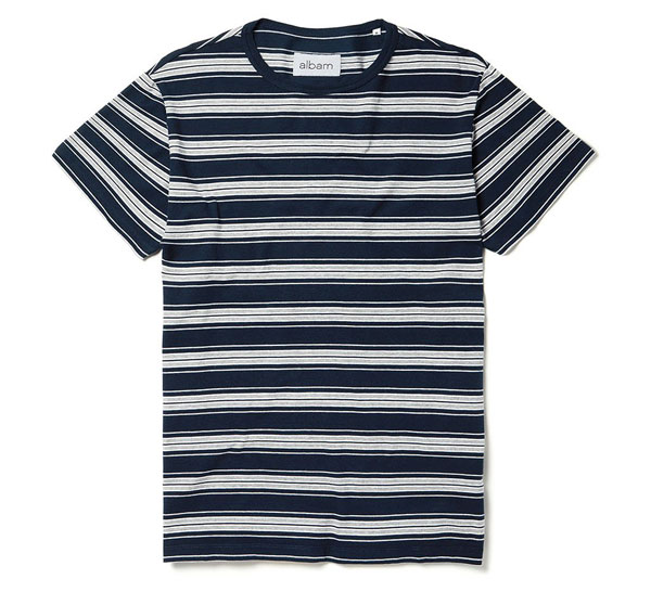 Albam 1950s-inspired vintage stripe t-shirts