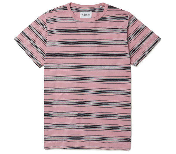 Albam 1950s-inspired vintage stripe t-shirts
