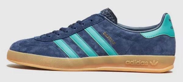 Adidas Gazelle Indoor trainers reissue in blue