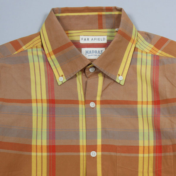 Far Afield x Madras Shirting Co popover shirts