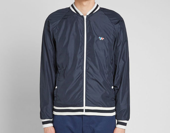 Maison Kitsune Tricolour Fox Windbreaker returns