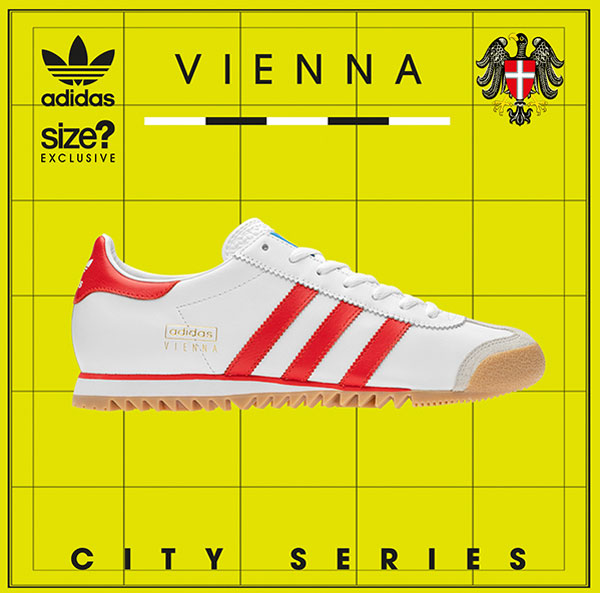 Adidas Vienna City Series trainers reissue at Size?