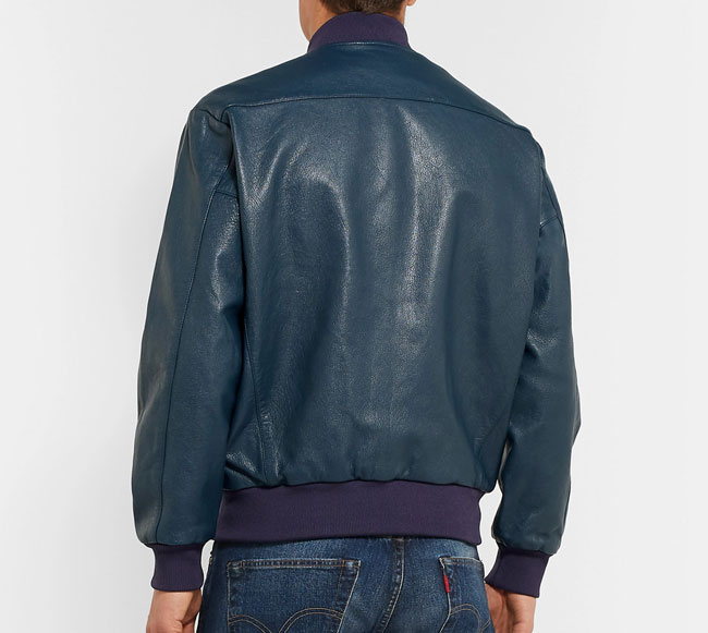 1950s-style leather bomber jacket by Levi's Vintage Clothing