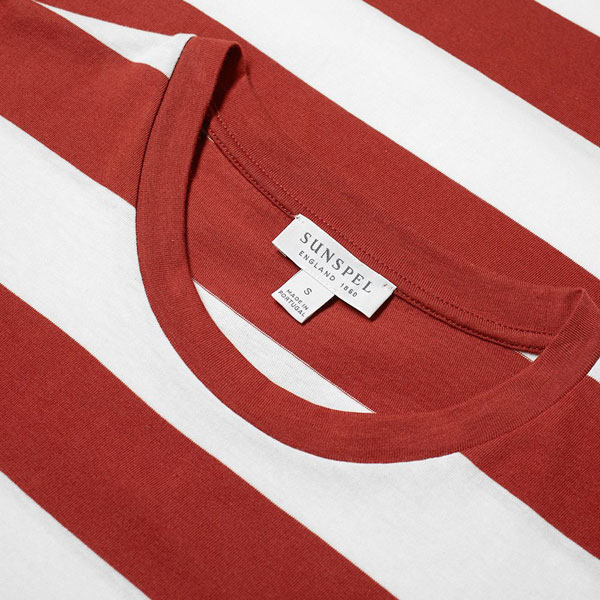 Sunspel organic vintage stripe t-shirts