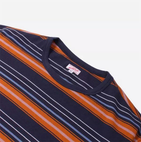 Arpenteur Match jersey stripe t-shirts