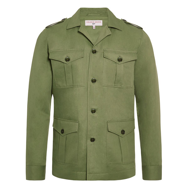 James Bond 007 Safari Jacket by Orlebar Brown