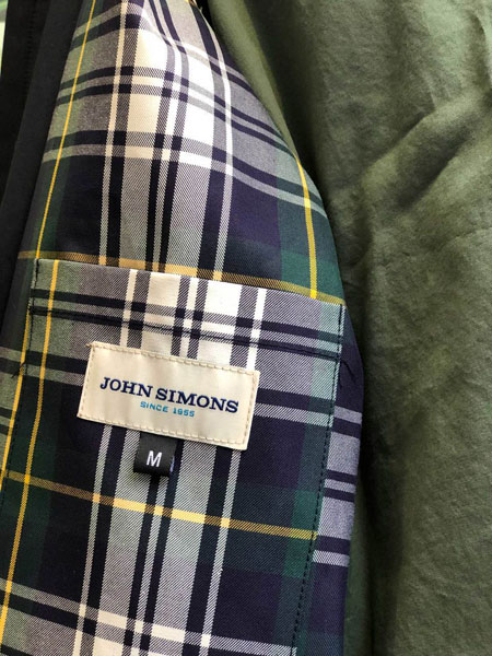 Limited edition John Simons Golf Jacket