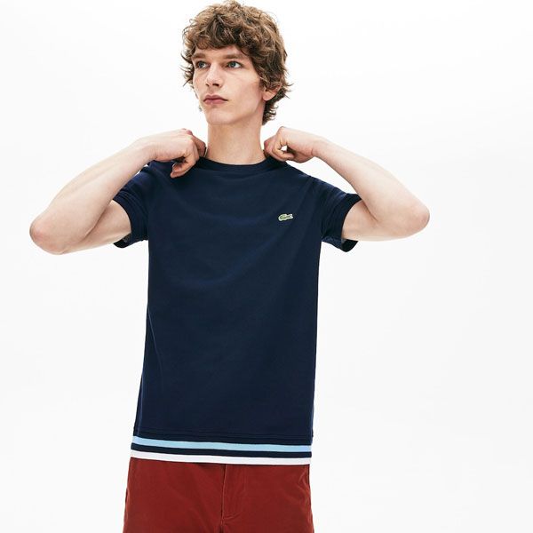 Lacoste Archive Made in France t-shirts and knitwear