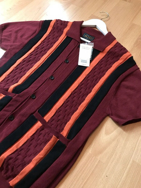 Limited edition Beams Plus 1960s-style polo shirt on eBay