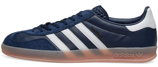 Adidas Gazelle Indoor trainers in blue leather